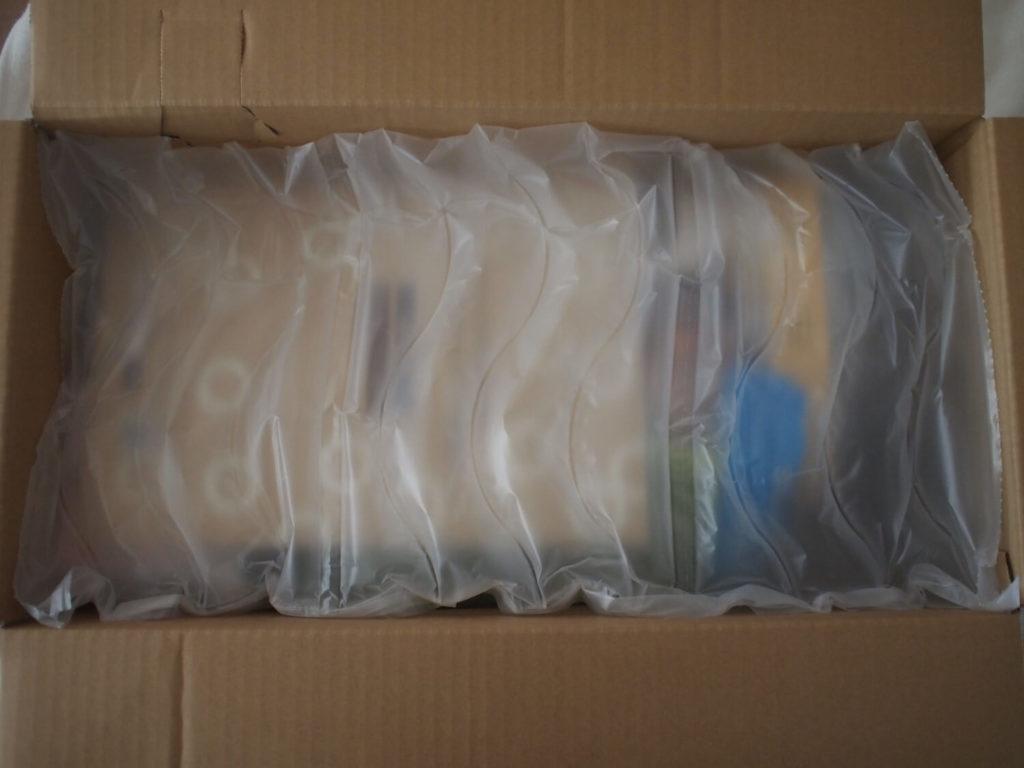 伊勢丹ドア(イセタンドア)のお試しセット梱包材