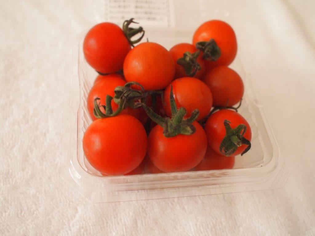 らでぃっしゅぼーやのミニトマト