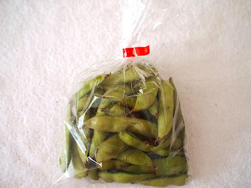 ビオマルシェの枝豆